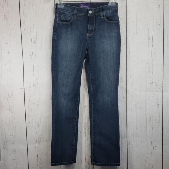 NYDJ Denim - NYDJ Straight Leg Jeans 4P